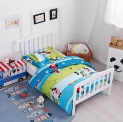 本色龙 幼儿床上五件套 全面斜纹卡套套件  BC.018