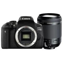 佳能(Canon)EOS 750D 单反套机(18-270mm F/3.5-6.3 Di II VC PZD镜头)ZX.082