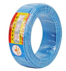 天坛TianTan塑铜线BV国标铜电线电缆家装线铜芯硬线95米蓝色(95m-6平方-蓝色)   JC. 403