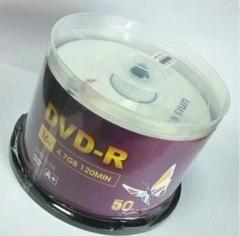 紫光 DVD光盘 dvd-r刻录光盘光碟 4.7G 16X空白光盘光碟 50片装  PJ.043