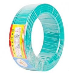 天坛TianTan塑铜线BV国标铜电线电缆铜芯硬线( 95m-4平方-绿色)  JC.428
