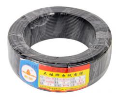 天坛TianTan塑铜线BV家装线国标铜电线电缆铜芯硬线(95m-4平方-黑色) JC.443