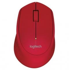 罗技(Logitech) M280无线鼠标光电笔记本电脑商务办公  红色  PJ.082