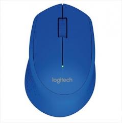 罗技(Logitech) M280无线鼠标光电笔记本电脑商务办公  蓝色  PJ.083