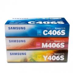 三星CLT-406S墨粉盒 C410W 460FW CLP-366w CLX-3306FN CLT-406S系列 彩色套装   HC.505