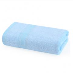 儿童纯色毛巾 蓝色10条/包  55g/条 27×50cm 儿童毛巾 BC.029