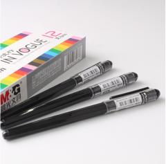 晨光(M&G)彩色中性笔AGP62403手账0.38mm针管水笔    黑色   XH.198