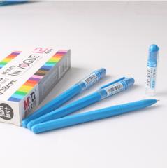 晨光(M&G)彩色中性笔AGP62403手账0.38mm针管水笔    晶蓝   XH.208