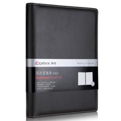 齐心(COMIX)C5824 18K活页本 商务记事本 日记本子 笔记本文具 黑色   BG.084