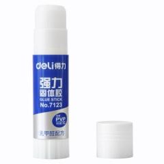 得力(deli)7123 PVP强粘性36g固体胶/胶棒 无甲醛配方     BG.093