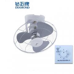 钻石 楼顶扇吸顶扇静音学校工业电风扇 FD-40 16寸铁叶【带调速器】DQ.1102