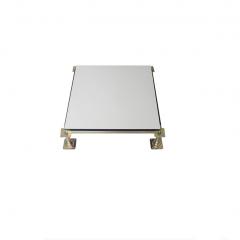 陶瓷防静电地板瓷砖面全钢机房高架空地板(1平米材料 及安装价格 )每块规格:600*600*40  JC.645