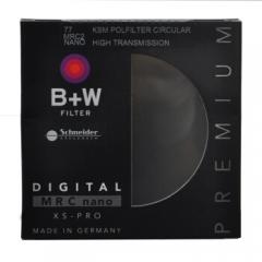 B+W 偏振镜 uv镜 滤镜 77mm UV镜 MRC NANO KSM XSP CPL 凯氏超薄多膜偏振镜  ZX.147