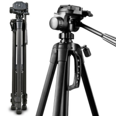 伟峰(WEIFENG)WT-3520 数码相机/卡片机微单脚架 铝合金轻便三脚架 蓝牙遥控 ZX.155