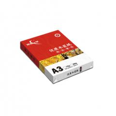 理想(RISO)理想之星复印纸A3 70G 5包/箱  500页/包   BG.100