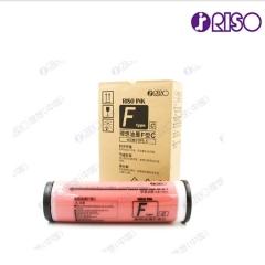 理想F型文件红油墨(S-7449)  一盒装 每盒2支  HC.550