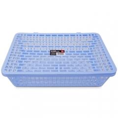 得力(deli) 924公文篮 网状塑料A4文件篮/文件框/票据篮/文件架 办公用品 蓝色    BG.134