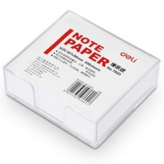 得力(deli)107×96mm带盒便签纸/便条纸/便条本 7601    BG.140