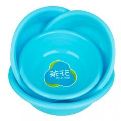茶花 洗脸盆30CM塑料盆子家务清洁洗菜盆 0506       QJ.014