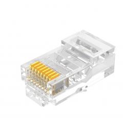 山泽(SAMZHE)工程级超五类网络水晶头 超5类RJ45网络水晶头 100个  WL.106