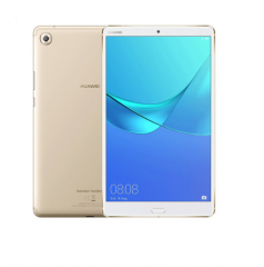 华为(Huawei) M5平板电脑 8.4英寸 八核2K高清屏平板Pad SHT-W09 4GB +128GB WIFI版 香槟金 PC.1193