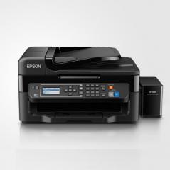 爱普生(Epson)L565 墨仓式 网络传真打印机一体机(打印 复印 扫描 云打印 无线直连) DY.001