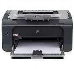 惠普(HP)LaserJet Pro P1106 激光打印机 A4打印 USB打印 小型商用打印 DY.008