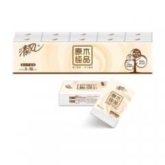 清风 (APP) 手帕纸 原木纯品 3层10张*10包 (迷你型)     QJ.116