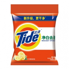 汰渍 净白去渍洗衣粉(柠檬清香)5kg/袋     QJ.125