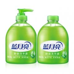 蓝月亮 芦荟抑菌 滋润保湿洗手液 500g瓶+500g瓶装补充装   QJ.139