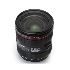 佳能(Canon) EF 24-70mm f4L IS USM 标准变焦镜头 焦距24-70mm 83.4*93mm ZX.176
