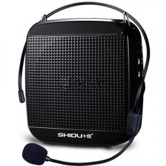 十度(ShiDu)SD-S512 15瓦大功率 小蜜蜂扩音器教学导游教师专用 经典黑   IT.203