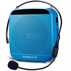 十度(ShiDu)SD-S512 15瓦大功率 小蜜蜂扩音器教学导游教师专用 天空蓝  IT.204