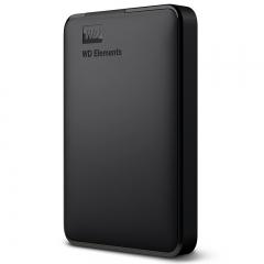 西部数据(WD)1TB USB3.0移动硬盘Elements 新元素系列2.5英寸(稳定耐用 海量存储)  PJ.124