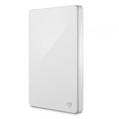 希捷(Seagate)1TB USB3.0移动硬盘 Backup Plus 睿品 2.5英寸 金属外壳 轻薄时尚 限量白( STDR1000307)  PJ.126