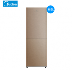 美的(Midea) BCD-186WM 186L 两门冰箱 DQ.1019