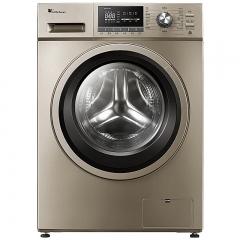 美的 TG100-1411DG 滚筒洗衣机 摩卡金 DQ.1176