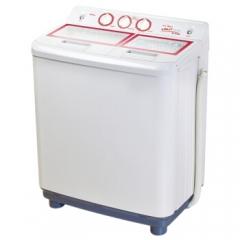 美的(Midea) MP85-S855 8.5公斤/KG大容量双缸双桶双筒波轮半自动家用商用洗衣机 灰色 DQ.1182
