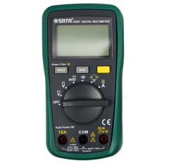 世达 数字万用表自动量程 03007掌上型带频率带背光仪表 JC.652