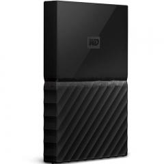 西部数据(WD)1TB USB3.0移动硬盘My Passport 2.5英寸 经典黑(硬件加密 自动备份)WDBYNN0010BBK   PJ.132