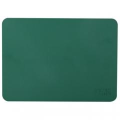 得力(deli)9878 财务专用印章垫 方形盖章垫 直径18CM 厚4MM 军绿色     BG.230