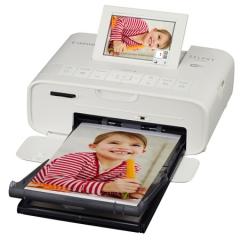 佳能(Canon)SELPHY CP1300 照片打印机便捷操作 轻松打印(白色)  DY.157