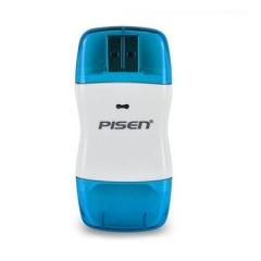 品胜(PISEN) 彩弧SD读卡器(蓝色) 支持SD/SDHC/MMC/mini SD(需卡套)/T-Flash卡(需卡套)储存卡 DY.191