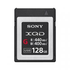 索尼(SONY) XQD存储卡 QD-G128E 高速128GB 读取440MB/S 专业摄像机单反相机内存卡 ZX.194