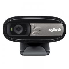 罗技(Logitech)C170 网络摄像头 黑色 多人通话 网络课程 远程教育 PJ.149