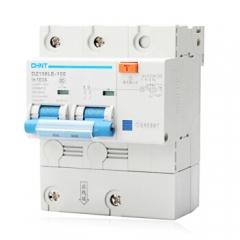正泰(CHNT) 断路器 空气开关 家用空开带漏电保护 大功率 2P 100A C型 DZ158LE JC.743