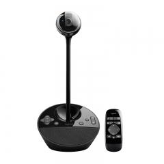 罗技(Logitech)BCC950 商务高清会议视频摄像头遥控远程操作摄像头 黑色  PJ.152