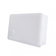 正泰(CHNT) 配电箱 20回路暗装 家用布线箱 空开强电箱 白色 JC.745