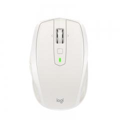 罗技(Logitech)MX Anywhere 2S 无线蓝牙优联双模跨计算机控制鼠标 快速充电 玻璃面可用   哑光白  PJ.154