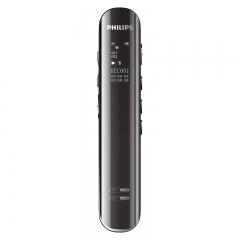 飞利浦(PHILIPS)VTR5200 8GB 会议采访 双麦克风数码录音笔 锖色  IT.255